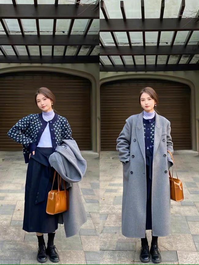 Loạt cách mix sành điệu từ trong ra ngoài, bỏ áo khoác lại càng đẹp xuất sắc dành cho chị em công sở - Ảnh 7.