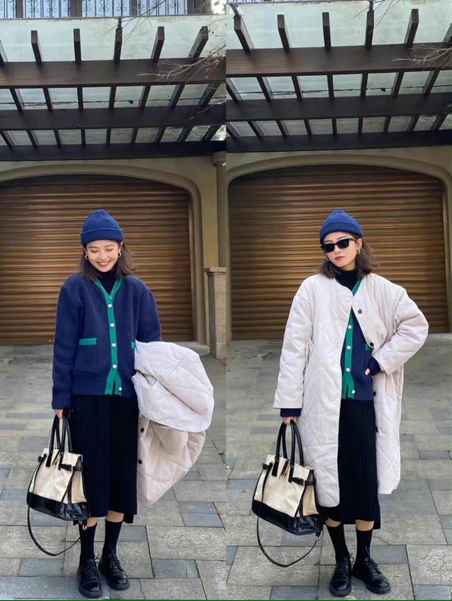 Loạt cách mix sành điệu từ trong ra ngoài, bỏ áo khoác lại càng đẹp xuất sắc dành cho chị em công sở - Ảnh 5.