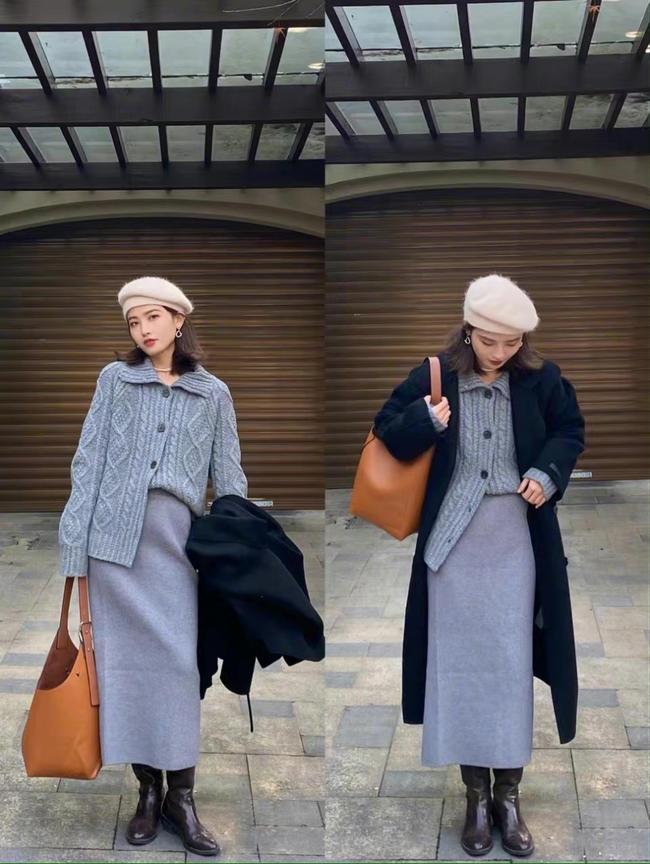 Loạt cách mix sành điệu từ trong ra ngoài, bỏ áo khoác lại càng đẹp xuất sắc dành cho chị em công sở - Ảnh 2.