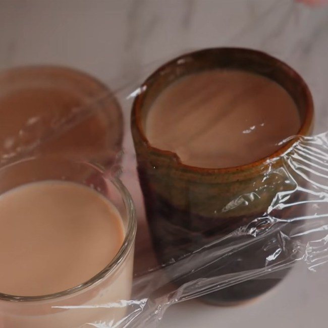 Mách chị em cách làm thạch pudding từ trà túi lọc thơm ngon, không béo: Ăn đến đâu sướng đến đấy, cơn vật đồ ngọt bị đá bay trong chớp mắt! - Ảnh 4.