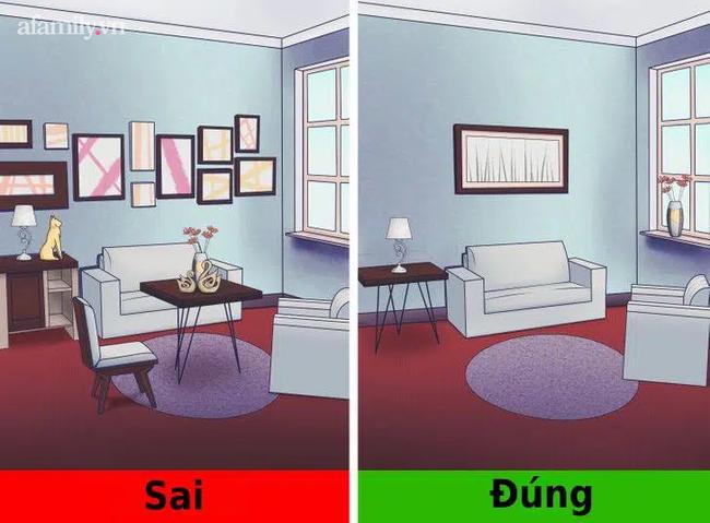 Những sai lầm nhất định phải tránh trong thiết kế nội thất khiến không gian thiếu sự ấm cúng - Ảnh 4.