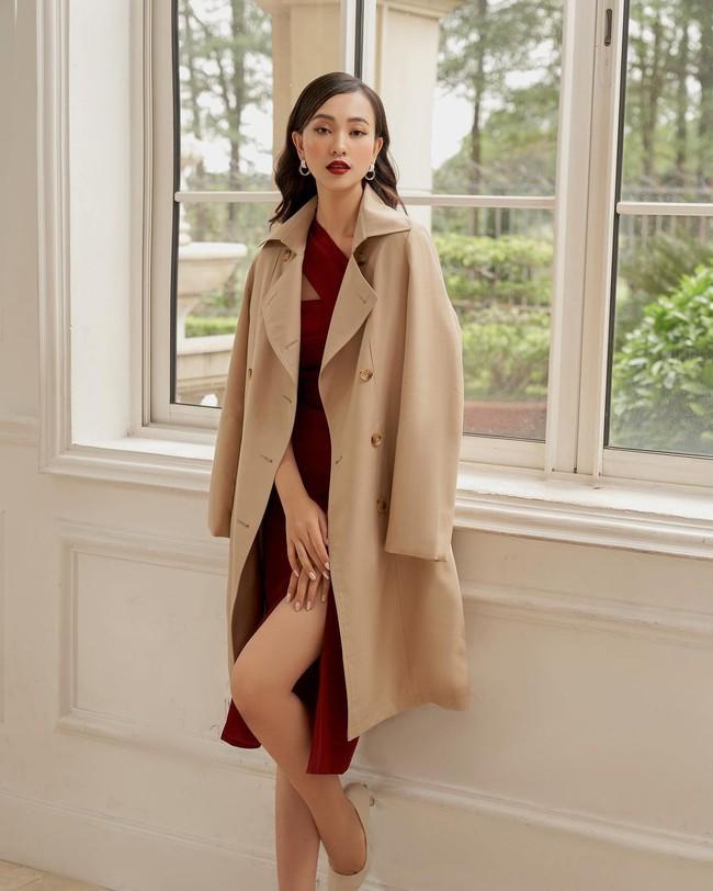 10 mẫu trench coat từ 450k, chị em sắm ngay để Tết Tân Sửu trời lạnh hay không cũng mặc đẹp hết ý - Ảnh 9.