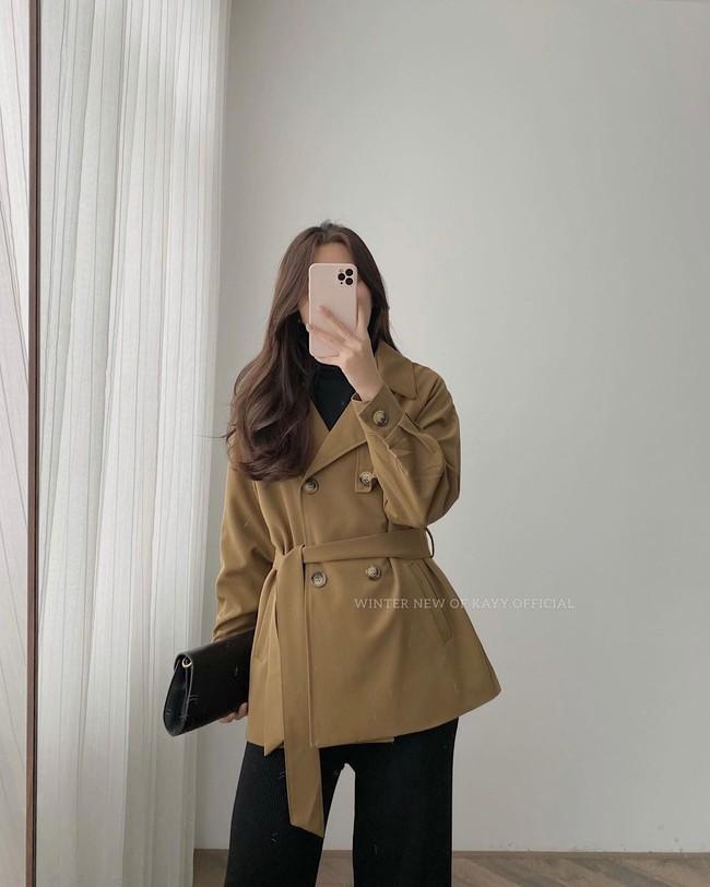 10 mẫu trench coat từ 450k, chị em sắm ngay để Tết Tân Sửu trời lạnh hay không cũng mặc đẹp hết ý - Ảnh 13.