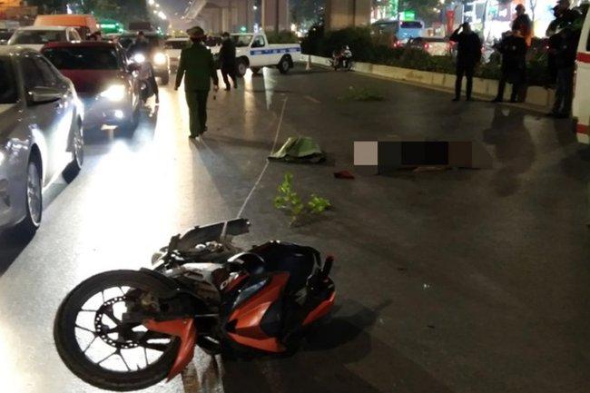 Hà Nội: Tạm giữ người đàn ông 30 tuổi để làm rõ vụ tai nạn khiến 2 người tử vong - Ảnh 1.