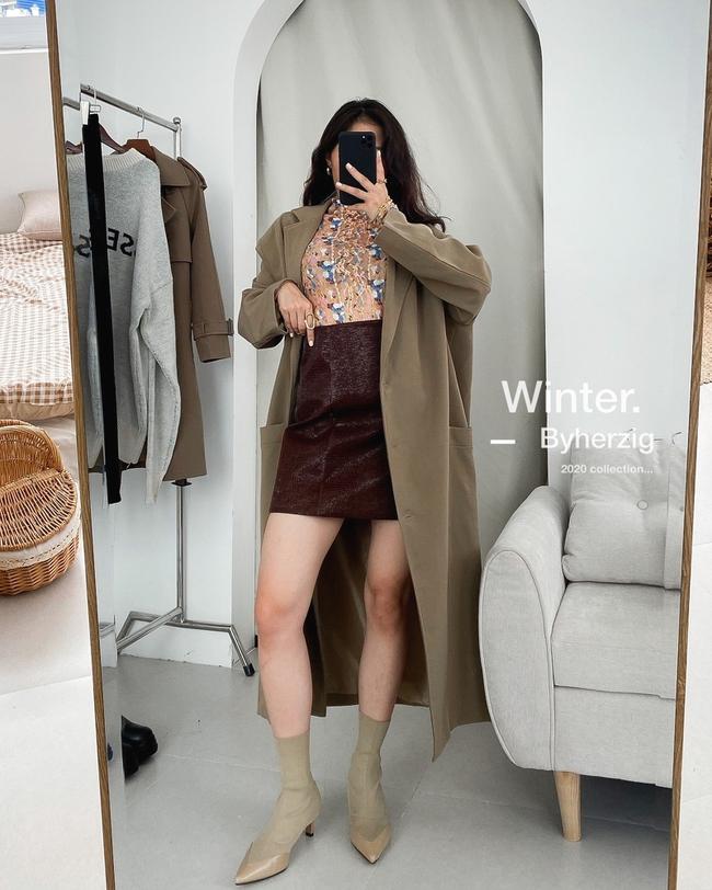 10 mẫu trench coat từ 450k, chị em sắm ngay để Tết Tân Sửu trời lạnh hay không cũng mặc đẹp hết ý - Ảnh 11.