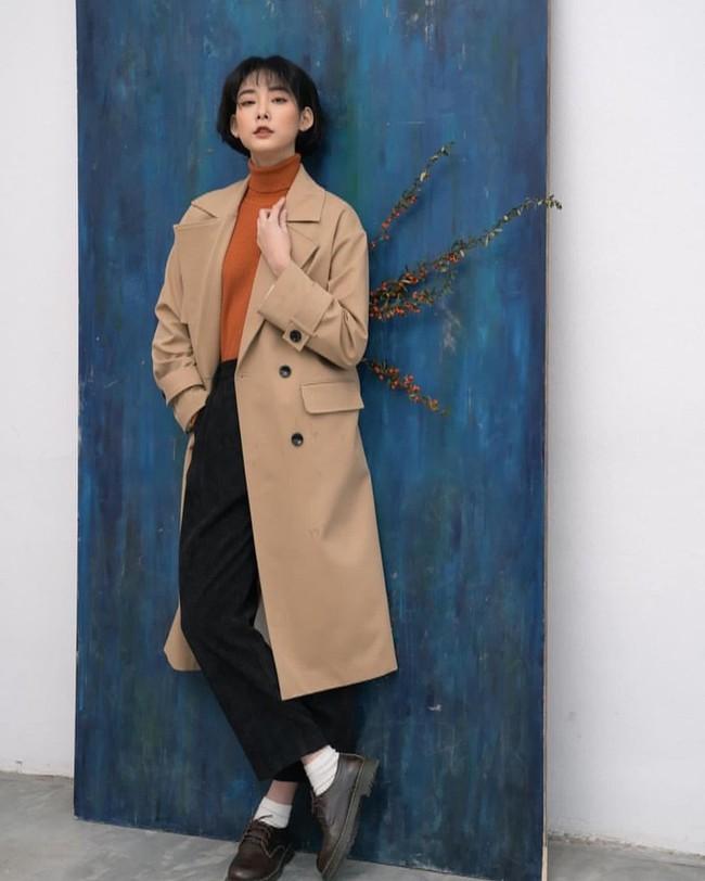 10 mẫu trench coat từ 450k, chị em sắm ngay để Tết Tân Sửu trời lạnh hay không cũng mặc đẹp hết ý - Ảnh 15.