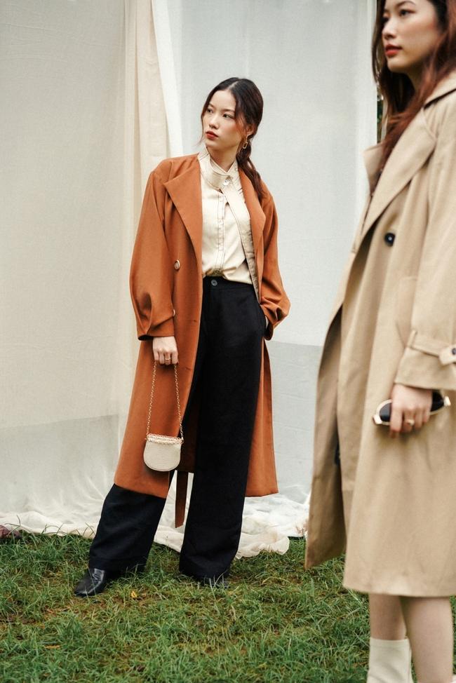 10 mẫu trench coat từ 450k, chị em sắm ngay để Tết Tân Sửu trời lạnh hay không cũng mặc đẹp hết ý - Ảnh 5.
