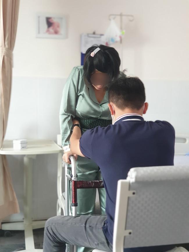 """TP.HCM: Vợ liệt nửa người sau khi sinh con, chồng """"tố"""" bệnh viện phụ sản tắc trách, vô trách nhiệm - Ảnh 4."""