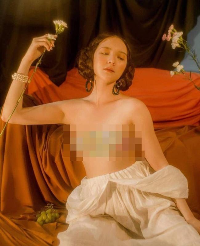 """""""Nàng thơ của Sơn Tùng M-TP"""" bị """"đào mộ"""" ảnh nude giữa ồn ào tình ái của nam ca sĩ và Thiều Bảo Trâm - Ảnh 2."""