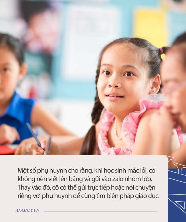 """Phụ huynh phản ánh cô giáo """"bêu tên"""" học sinh phạm lỗi hằng ngày lên bảng, nhưng ngạc nhiên nhất là phản ứng """"không thể ngờ"""" của hội cha mẹ - Ảnh 4."""