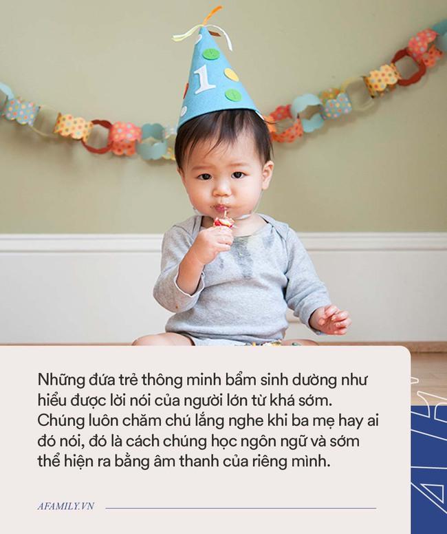 Nếu biết nói sớm hơn độ tuổi này chứng tỏ em bé nhà bạn sở hữu trí thông minh tuyệt vời - Ảnh 1.