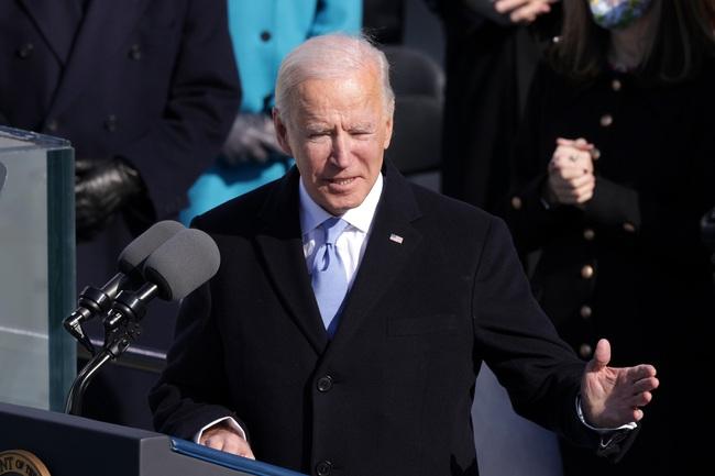 Ông Joe Biden tuyên thệ nhậm chức, chính thức trở thành Tổng thống thứ 46 của Mỹ - Ảnh 4.