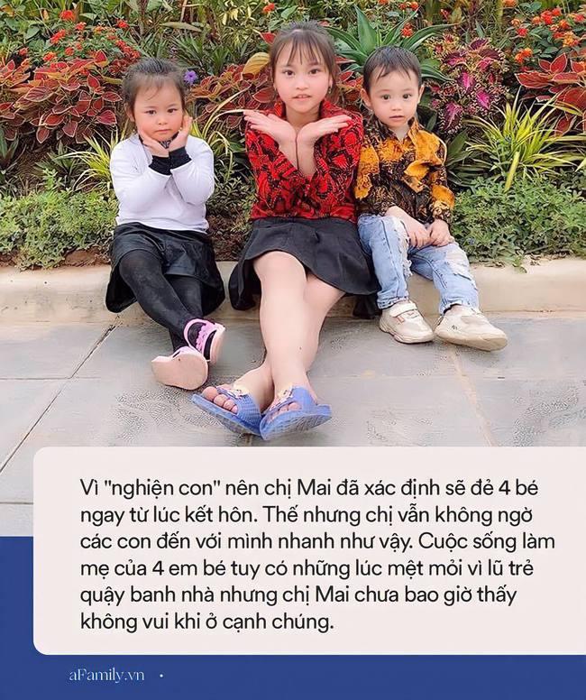 """Mẹ Hà Nội 8 năm sinh mổ 4 lần, lần nào đi đẻ cũng nhớ đời nhưng """"nghiện con thì không thể nào cai"""" - Ảnh 4."""