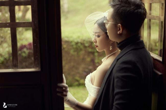 Ngắm bộ ảnh cưới của Á Hậu Thúy An và bạn trai hơn 10 tuổi: Cô dâu cực thần thái sang chảnh, chú rể điển trai phong độ - Ảnh 6.