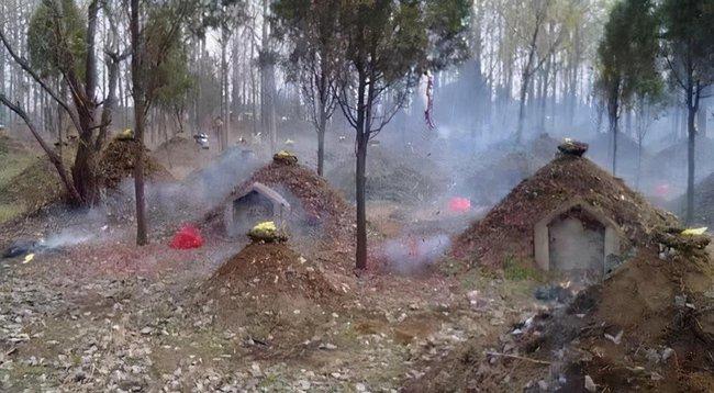 Người Trung Hoa xưa chôn cất quan tài dưới lòng đất nhưng trên mặt đất lại đắp một gò đất nhỏ, nguyên nhân không khó hiểu như nhiều người nghĩ! - Ảnh 1.