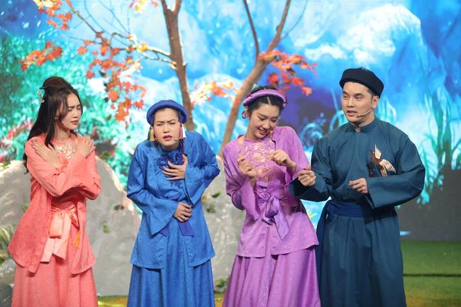 Ninh Dương Lan Ngọc - Lâm Vỹ Dạ lại hát trên truyền hình, vừa cất giọng đã gây cười vì điều này  - Ảnh 8.
