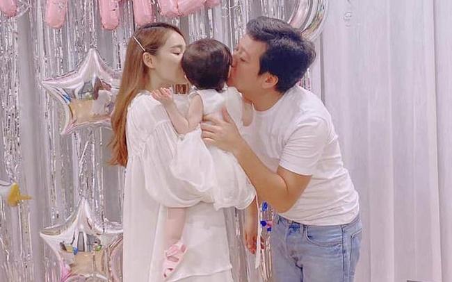 Ngoại hình hiện tại của các em bé nhà sao Việt chào đời đúng dịp Tết, ngỡ ngàng nhất là tiểu thư nhà Nhã Phương - Trường Giang - Ảnh 5.