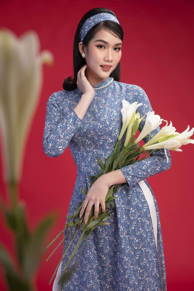 Hoa hậu Đỗ Thị Hà khoe thần thái sắc lạnh đầy khác lạ trong bộ ảnh áo dài cùng 2 Á hậu - Ảnh 8.