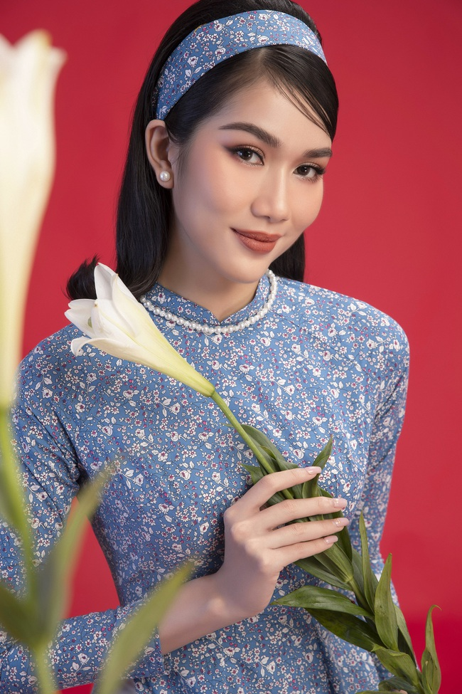 Hoa hậu Đỗ Thị Hà khoe thần thái sắc lạnh đầy khác lạ trong bộ ảnh áo dài cùng 2 Á hậu - Ảnh 7.