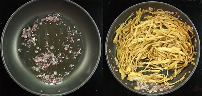 Cách nấu miến măng khô thịt gà