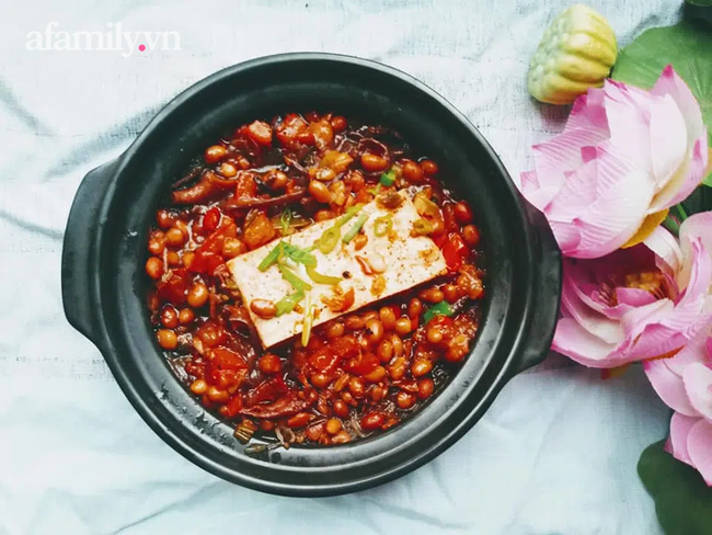 Tự làm tương hột đậu nành tha hồ ăn chay cả tháng nhiều món ăn phong phú làm gì cũng ngon - Ảnh 10.