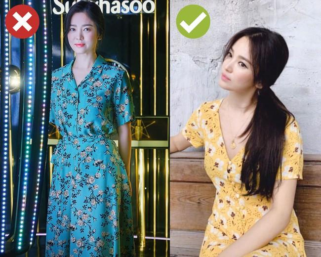 Song Hye Kyo sẽ cho chị em biết 4 kiểu váy dễ cộng thêm một cơ số tuổi cho người mặc, không nên sắm cho Tết - Ảnh 1.