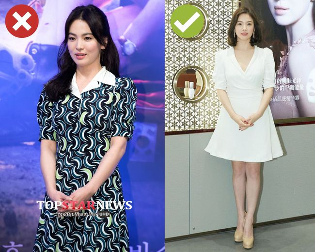 Song Hye Kyo sẽ cho chị em biết 4 kiểu váy dễ cộng thêm một cơ số tuổi cho người mặc, không nên sắm cho Tết - Ảnh 3.