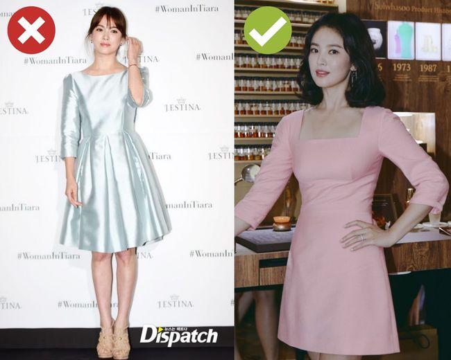 Song Hye Kyo sẽ cho chị em biết 4 kiểu váy dễ cộng thêm một cơ số tuổi cho người mặc, không nên sắm cho Tết - Ảnh 4.