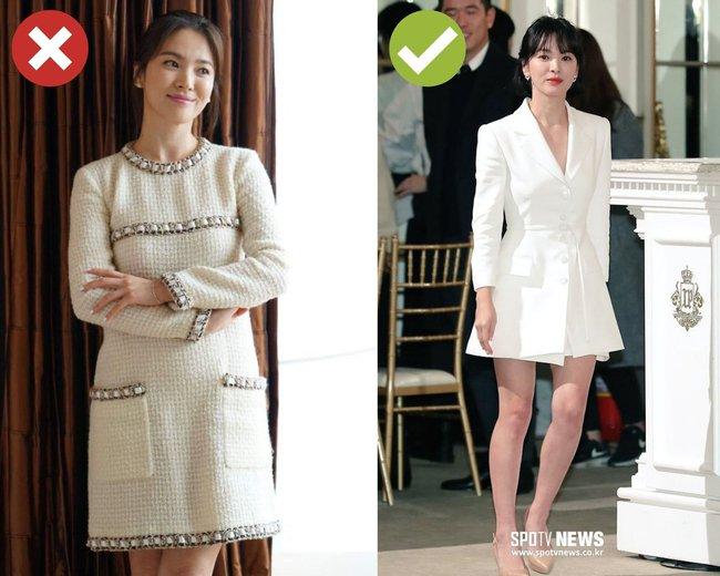Song Hye Kyo sẽ cho chị em biết 4 kiểu váy dễ cộng thêm một cơ số tuổi cho người mặc, không nên sắm cho Tết - Ảnh 2.