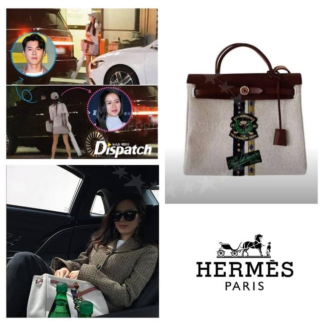 Soi chiếc túi mà Son Ye Jin cầm đi hẹn hò với Hyun Bin: Hóa ra cũng là 1 tín đồ thích hàng độc giống Song Hye Kyo  - Ảnh 1.