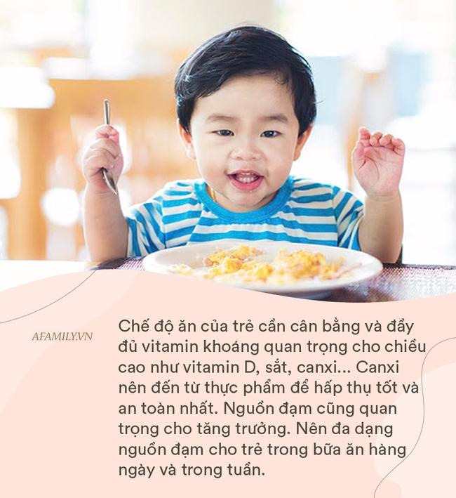 Chuyên gia khuyến cáo bố mẹ nên làm những việc này từ nhỏ để con đạt chiều cao tối đa, việc cuối cùng không mấy nhà làm được - Ảnh 4.