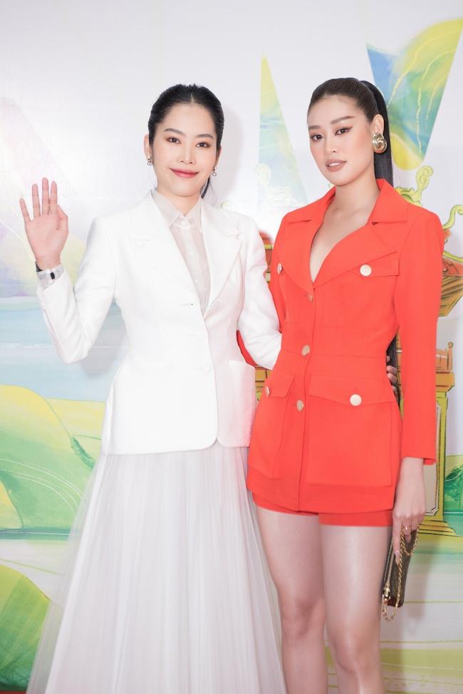 Hoa hậu Khánh Vân ngày càng đẹp, xuất hiện bên Nam Em thân thiết như chị em  - Ảnh 5.