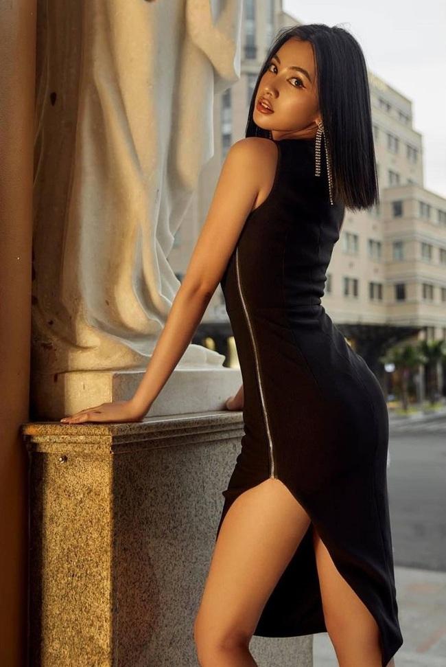 """""""Tình trẻ"""" kém 27 tuổi của chồng cũ Lê Quyên: Thí sinh gây tiếc nuối nhất Hoa hậu Việt Nam 2020, sở hữu ngoại hình giống mỹ nhân """"Tình người duyên ma"""" Mai Davika - Ảnh 11."""