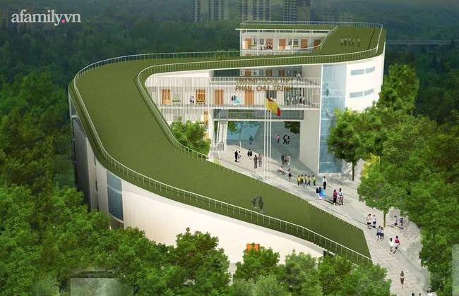 """Ngôi trường """"sát vách"""" Sài Gòn nhưng lọt thỏm giữa cả cánh rừng, đặc biệt nhất là kiến trúc chữ S uốn lượn, không hổ danh là 1 trong 10 trường đẹp nhất Việt Nam - Ảnh 1."""