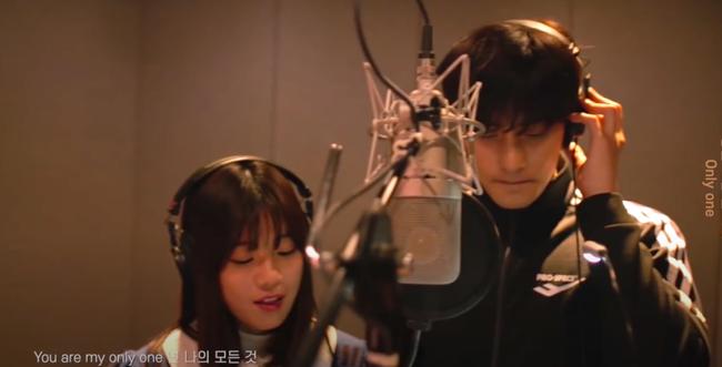 Hoàng Yến Chibi lần đầu hát tiếng Hàn, song ca ăn ý cùng mỹ nam Sung Hoon - Ảnh 2.
