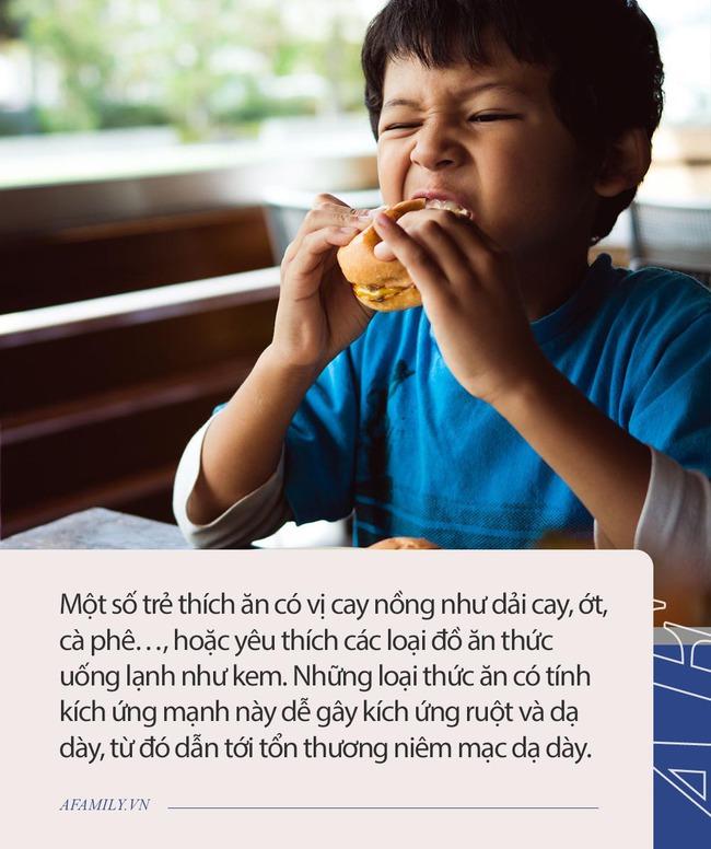 Những thói quen ăn uống dễ khiến dạ dày của trẻ suy yếu, ảnh hưởng chiều cao, nhiều cha mẹ không biết - Ảnh 1.