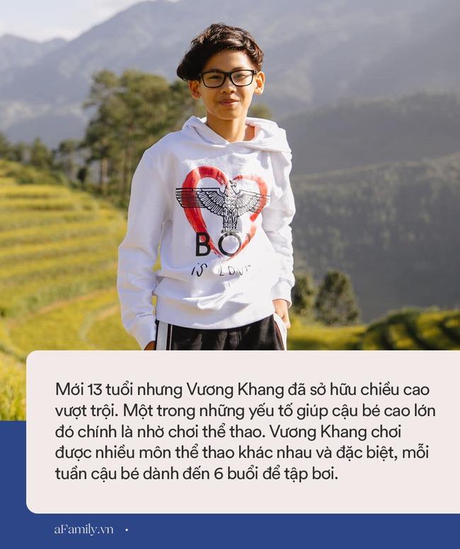 Hoa hậu Hà Kiều Anh tiết lộ chiều cao của con trai, 13 tuổi đã vượt chuẩn nhờ chơi môn thể thao này 6 buổi/tuần - Ảnh 3.