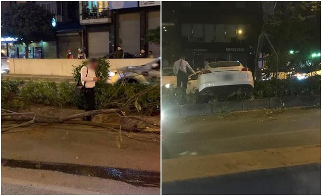 Thêm mâu thuẫn vụ Porsche cày nát dải phân cách ở Hà Nội: BV Bạch Mai khẳng định không tiếp nhận tài xế đột quỵ nào như người nhà nói - Ảnh 2.