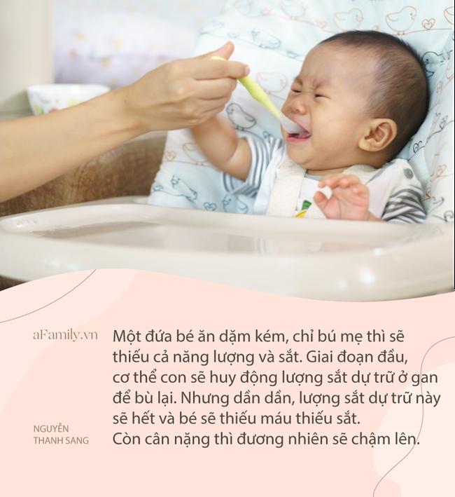Trẻ không lên cân suốt nhiều tháng: Bác sĩ Nhi khoa chỉ ra một sai lầm vô cùng quan trọng mà rất nhiều bà mẹ mắc phải - Ảnh 3.