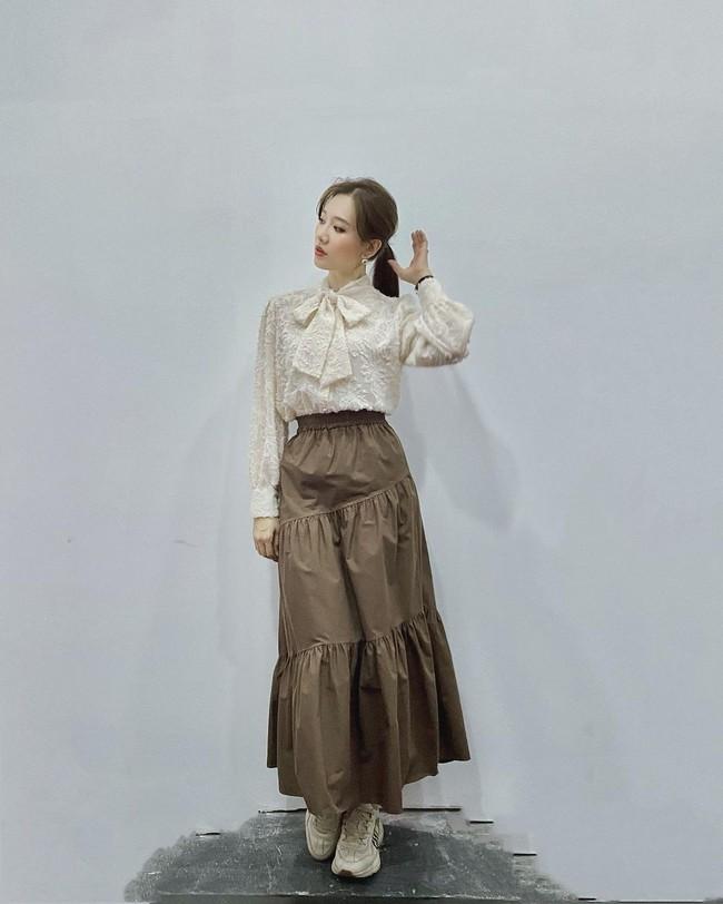 Hari Won bớt diện đồ nhí nhảnh, năng mặc những items đứng dáng là style lập tức thăng cấp ngoạn mục - Ảnh 8.