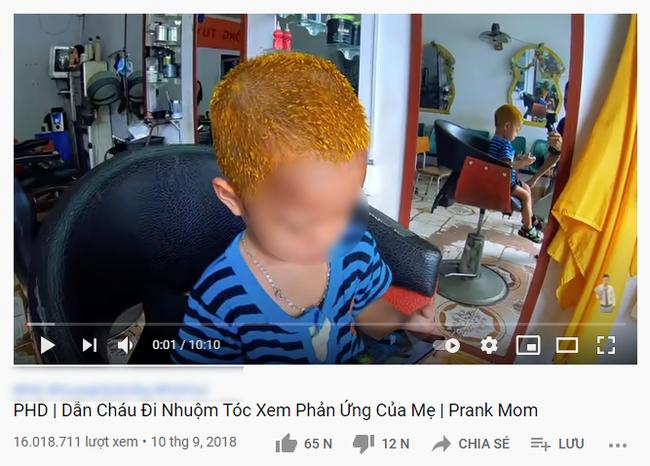Lại thêm một kênh Youtube cho trẻ chứa nhiều nội dung nhảm nhí: Thử thách đập vỡ TV của mẹ, phá nhà cửa chỉ để cho vui - Ảnh 4.