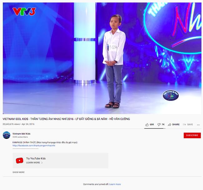 Sau khi thành viên BTC úp mở ẩn tình vụ Hồ Văn Cường, clip thi Vietnam Idol Kids bị thẳng tay làm điều này  - Ảnh 2.