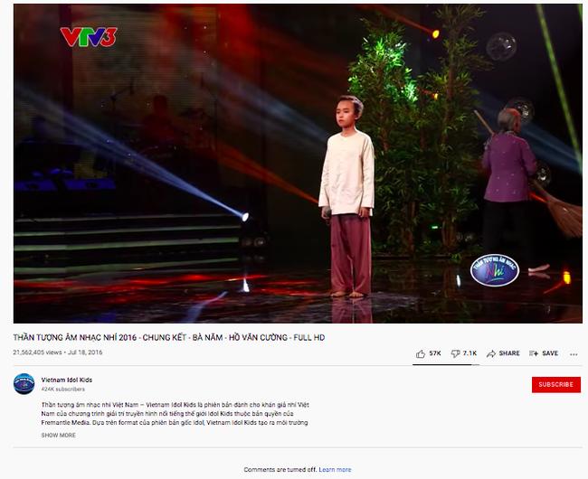 Sau khi thành viên BTC úp mở ẩn tình vụ Hồ Văn Cường, clip thi Vietnam Idol Kids bị thẳng tay làm điều này  - Ảnh 1.