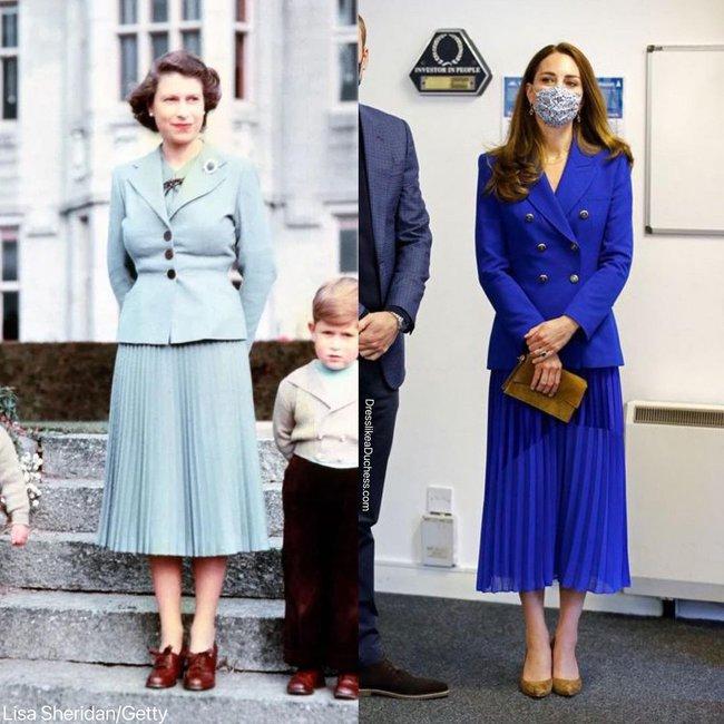Nhìn những lần Công nương Kate diện đồ hao hao Nữ hoàng Anh, dân tình khen cô đã rất ra dáng Hoàng hậu tương lai - Ảnh 3.