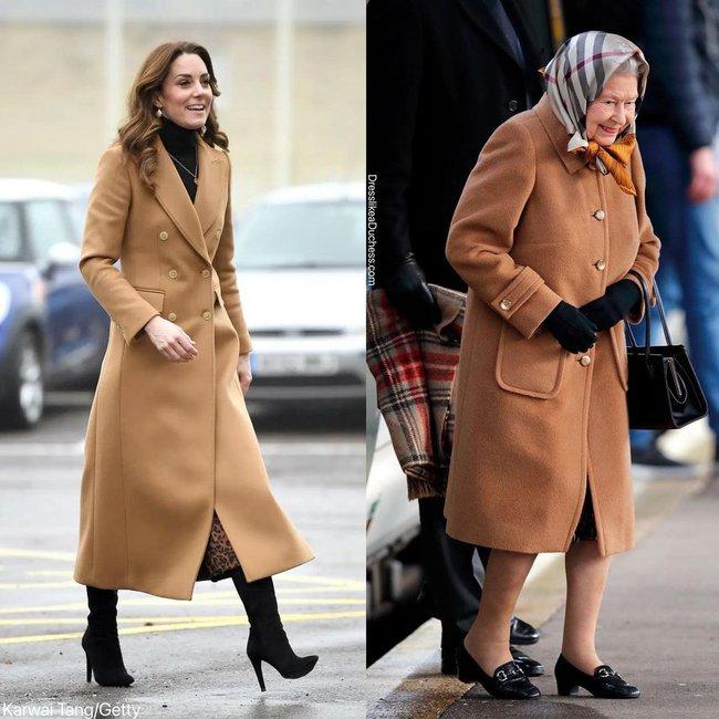 Nhìn những lần Công nương Kate diện đồ hao hao Nữ hoàng Anh, dân tình khen cô đã rất ra dáng Hoàng hậu tương lai - Ảnh 4.