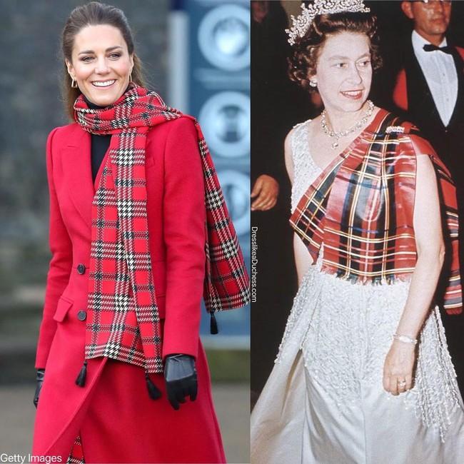 Nhìn những lần Công nương Kate diện đồ hao hao Nữ hoàng Anh, dân tình khen cô đã rất ra dáng Hoàng hậu tương lai - Ảnh 6.