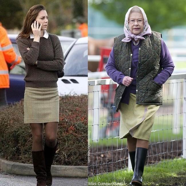 Nhìn những lần Công nương Kate diện đồ hao hao Nữ hoàng Anh, dân tình khen cô đã rất ra dáng Hoàng hậu tương lai - Ảnh 7.