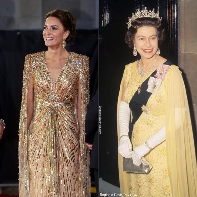 Nhìn những lần Công nương Kate diện đồ hao hao Nữ hoàng Anh, dân tình khen cô đã rất ra dáng Hoàng hậu tương lai - Ảnh 8.