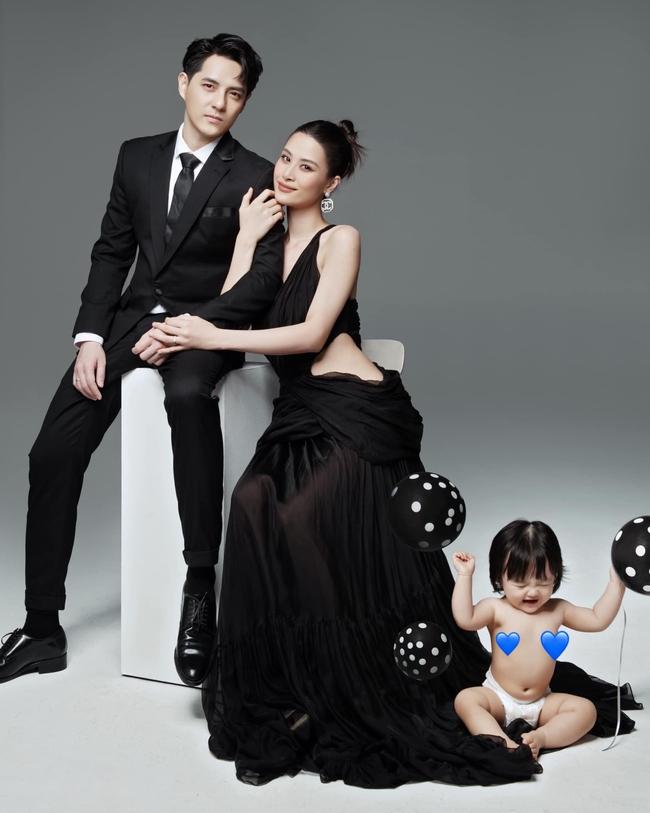 Phản ứng của Đông Nhi khi bộ ảnh gia đình bị chê dữ dội - Ảnh 4.