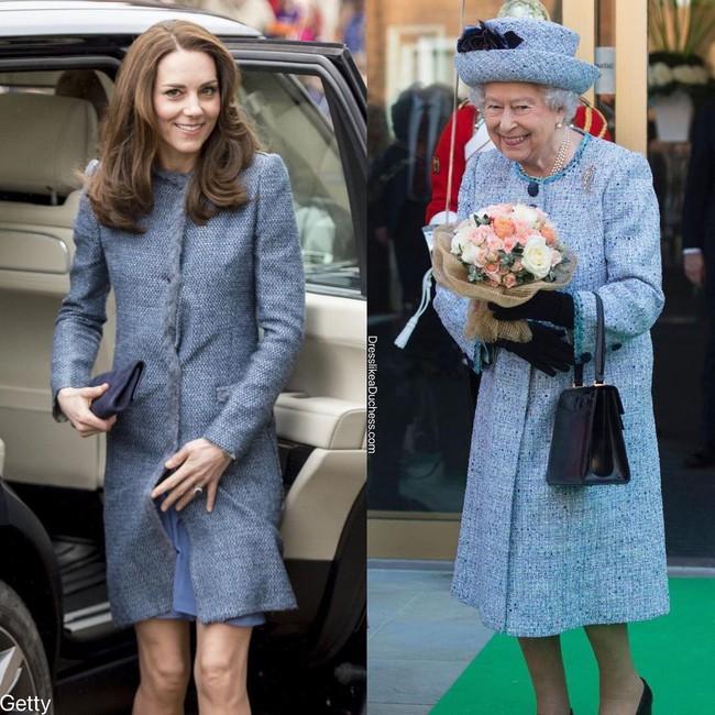 Nhìn những lần Công nương Kate diện đồ hao hao Nữ hoàng Anh, dân tình khen cô đã rất ra dáng Hoàng hậu tương lai - Ảnh 9.